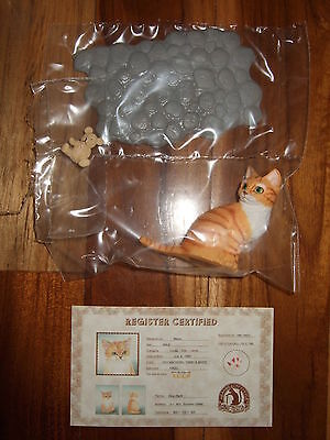 Rare Bandai Neargo Cat Figure Collection Series 1 Figurine Meow