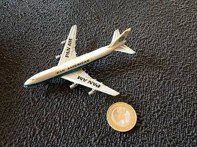 Zee Dyna Flites Hong Kong Boeing 747 Pan American Metal Airplane Model