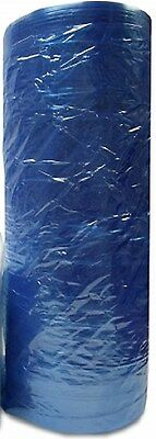 "Dry Cleaning Poly Garment Bags BLUE 40"" - 350 bags per roll"
