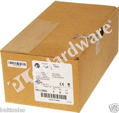 New Sealed Allen Bradley 1761-L10BWA /F MicroLogix 1000 Processor Frn 1.1
