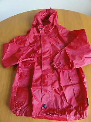 Regatta Isotex waterproof jacket fishing camping child 5-6