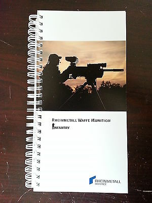 Rheinmetall Waffe Munition / Infantry Catalog Booklet / 127 Pages / 2013 / New
