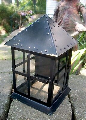 arts & crafts Garage Porch Light   mission sconce vintage antique architectural