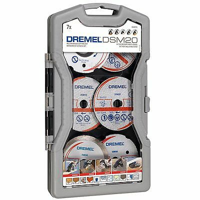 Dremel DSM705 Wood/Metal/Tile/Plastic Cutting Wheel/Disc/Blade Set for DSM20 Saw