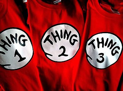 thing 1 and thing 2 t-shirts infant toddler youth adult new thing 1 t-shirt