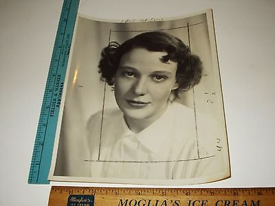 Rare Original VTG Young Pianist Rose Elizabeth Fitzgerald Kennedy Photo