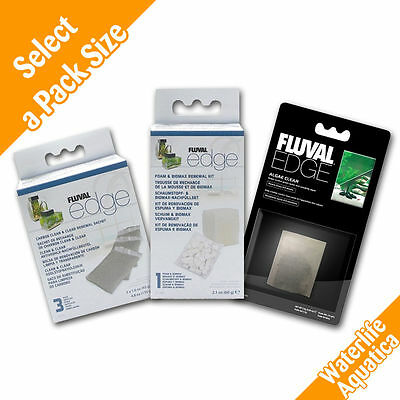 Fluval EDGE Complete Filter Collection - Foam & Biomax, Carbon, Algae Clear!