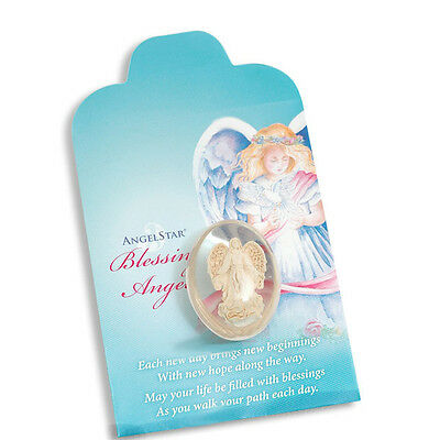 ANGELSTAR ANGEL STONES - Guardian; Travel; Blessing; Worry; Four Leaf; Healing