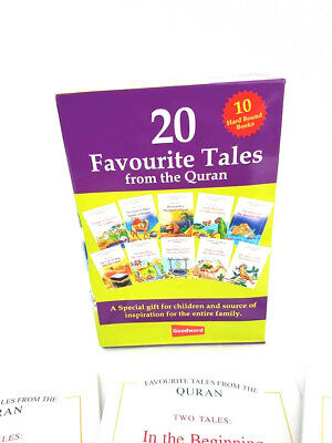20 Favourite Tales from the Quran for Kids (10 Hardback Books)