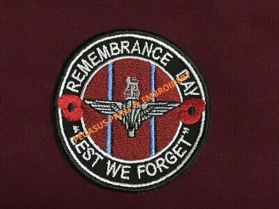 Remembrance Day - Lest We Forget - The Parachute Regiment & Airborne Forces
