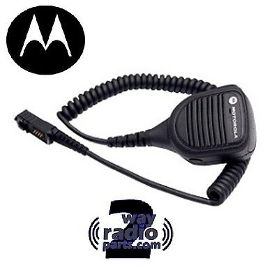 Impres Real Motorola (Small Head) MotoTRBO Speaker Mic PMMN4073A XPR3300 XPR3500