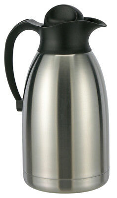2 L Edelstahl-Isolierflasche Thermokanne Thermoskanne Thermo-Flasche Iso-Kanne