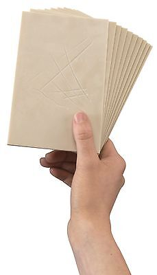 Softcut Sheets Relief Printmaking Block Printing Pack of 10 - Choose Size