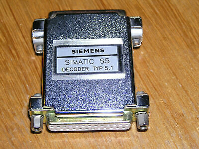Siemens Simatic S5 Decoder Typ 5.1 for Step 5 V3.0, used excellent condition