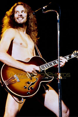Ted Nugent 12x18 Poster Size Photo  80's Live Concert Exclusive Studio Print  91