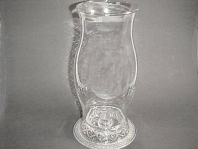 2 Piece Cape Cod Hurricane Lamp / Imperial Glass Co