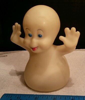 CASPER Friendly GHOST Blue Eyed Harvey Cartoon Figure Halloween Decor Party Boo!