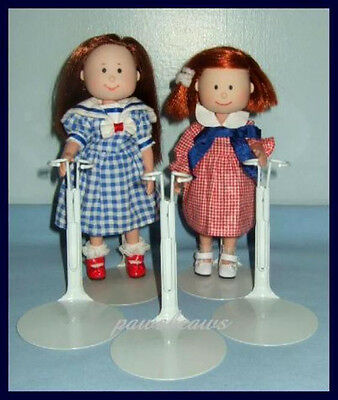 """FREE U.S.SHIPPING 3 Kaiser Doll Stands for Eden's 8"""" MADELINE & Friends"""