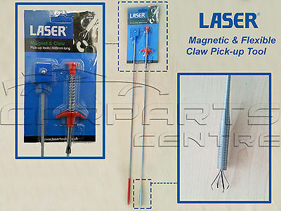 Laser Tools 2434 - Magnetic / Retrieval Magnetic & Flexible Claw Pick-up Tool