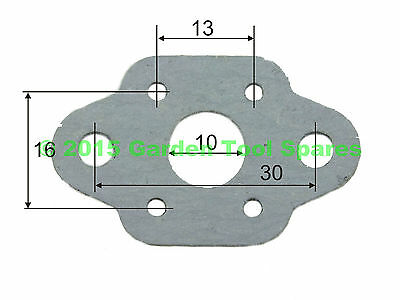 Carburettor Carb Gasket To Fit Various 26Cc Strimmer  Hedge Trimmer Brush Cutter