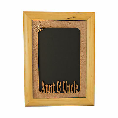 "Best Aunt and Uncle 5""x7"" Photo Frame"