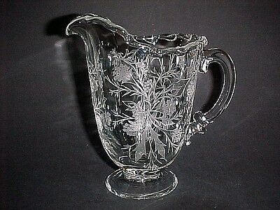Hard To Find Fostoria Heather 16 Ounce Milk Pitcher