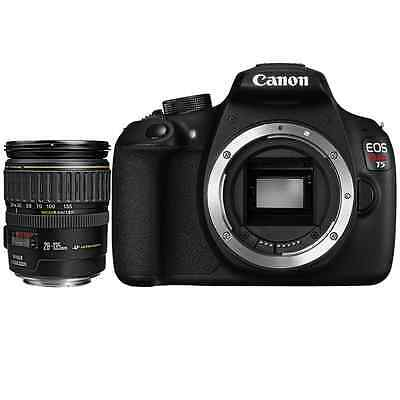 NEW Canon EOS Rebel T5 DSLR Camera Body w/ EF 28-135mm f/3.5-5.6 IS USM Lens