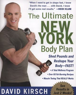 The Ultimate New York Body Plan by David Kirsch (2008, Paperback)