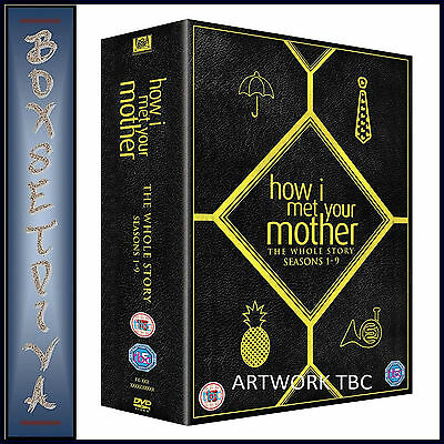 How I Met Your Mother- Complete Series 1 2 3 4 5 6 7 8 & 9 **Brand New  Boxset**