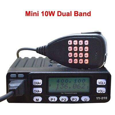 Dual band ham radio Mobile Transceiver USB Programming cable Dual reception