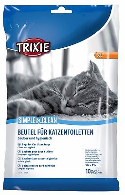 EXTRA LARGE TRIXIE CAT LITTER TRAY LINERS - FIT UP TO 56x71cm  Art 4051