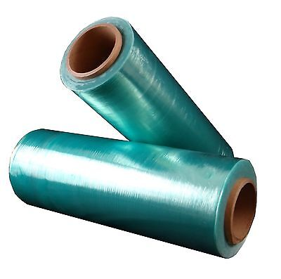 Hand Stretch Plastic Wrap Green Tint Hi-Perf Film Choose Your Rolls & Size