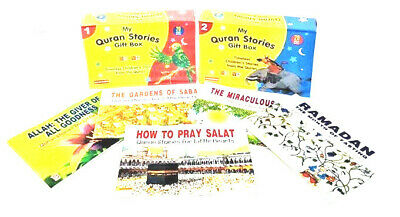 Quran Stories For Little Hearts - Set of 45 Books - Goodword Kids