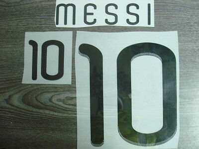 NEW! MESSI #10 Argentina Home World Cup 2010 Name Number