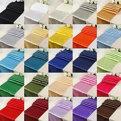 "Satin Aisle Runner 75ft Long 60"" wide 100% Seamless Fabric Ceremony Wedding"