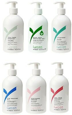 LYCON Vor&Nach-Behandlungs Lotionen,Pre&Post Waxing lotions,Epilation,Enthaarung