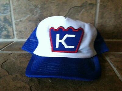 Vintage Knight Of Columbus KC Crown Hat Trucker Adjustable