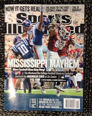 Sports Illustrated Regional Issue 10-13-14 Mississippi State & Ole Miss NO LABEL