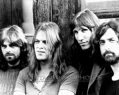 Pink Floyd Photo 8x10 inch Vintage Band Group Candid Pro Fuji Studio Print 7b