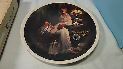 "KNOWELS PLATES ORIGINAL BOX COA ""EVENING PRAYERS"" 3392 A"