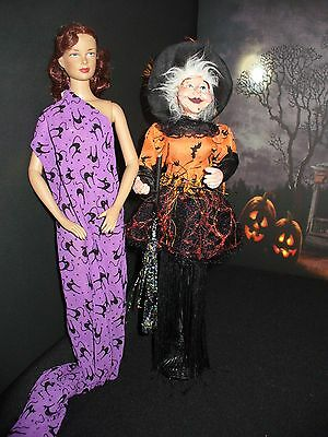 Halloween Gothic Wicked Witch Stand 4 Your 16 inch Fashion Dolls