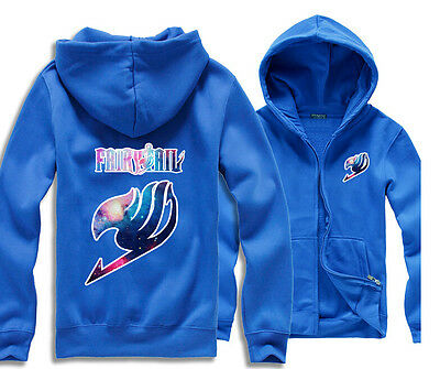 Unisex Anime Fairy Tail Clothing  Hooded Sweater Different Colours choosable