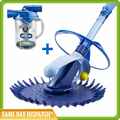 Zodiac G1 Pool Cleaner - (New & Improved Baracuda G2 ) + CYCLONIC LEAF CATCHER