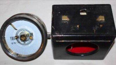 Vintage Toulet Imperator Pigeon Racing Clock - Fitted with McMillan's Pat