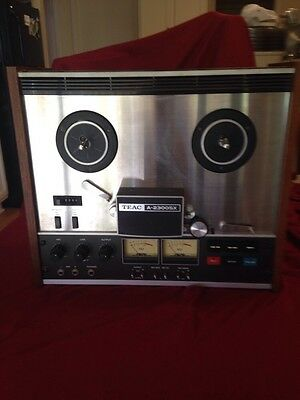 Teac Reel to Reel A2300 SX, No Cords To Test. So Selling For Parts :(