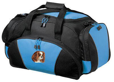 Cavalier King Charles Spaniel Embroidered Duffel Bag