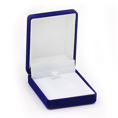 Hot Stylish Practical Stunning Cotton Filled Box Necklace Gift Box Jewelry Boxes