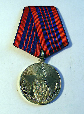 Russian soviet  medal 50 years police