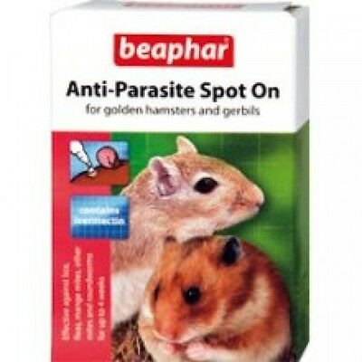 Beaphar Anti Parasite Spot on Flea Treament for Hamster & Gerbils