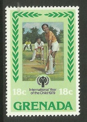 GRENADA 1979 International Year of Child SINGLE CRICKET Value only MNH